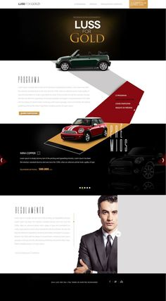 Luss for Gold Web Design Beautiful Website Design, Website Design Inspiration, Design Ideas, Website Layout, Web Layout, Web Design Agency, Flyer Design, Luxury Website, Web Mobile