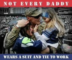 Thanks for  your  Sacrifice  and Happy  Father's day  to To All Real men. BTW. GO Hawk's  SB #50