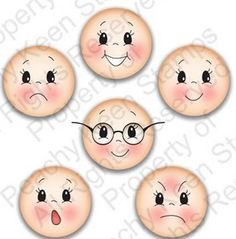 icu ~ Best 12 – Page 399624166934724241 – SkillOfKing. Fabric Dolls, Paper Dolls, Art Dolls, Doll Eyes, Doll Face, Clay Pot Crafts, Diy And Crafts, Peachy Keen Stamps, Cartoon Eyes