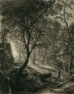 The Herdsman's Cottage 1850 (etching) by Samuel Palmer Manchester Art, Religious Images, English Artists, Paintings I Love, Oil Paintings, Modern Artists, Wood Engraving, Gravure, Les Oeuvres