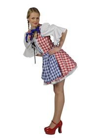 10d77d6114032a Met dit leuke Dirndl jurkje bent u klaar voor het Oktoberfest. Wij hebben  een groot assortiment Tiroler kleding te huur