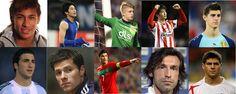 สีสันฟุตบอลโลก 2014 กับ 10 อันดับหนุ่มหล่อขวัญใจสาว ๆ