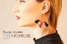 DIY Tassel Earrings Tutorial
