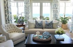 Getting the #beach feeling in your #livingroom