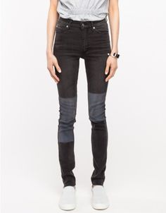 Cheap Monday / Second Skin in Patch Black