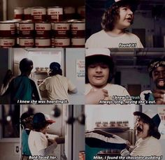 Stranger things- they could not have chosen a better Dustin if they tried.