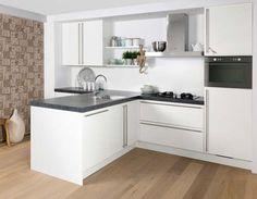 Keuken Bar Schiereiland : Design keuken van vierkante meter m