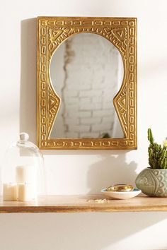 Magical Thinking Bodhan Mirror - Urban Outfitters