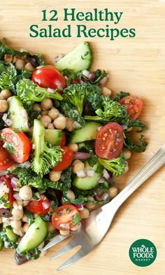 Skip the fatty dressings and cheeses in favor of fresh ingredients that hold their own. No matter what flavor profile you prefer, Whole Foods Market has a healthy salad recipe for you.