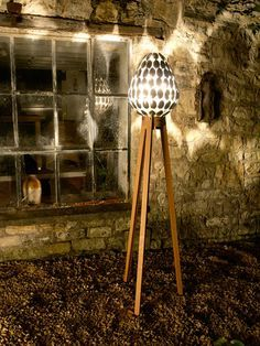 lamp made from spoons by clive roddy, upcycle, repurpose
