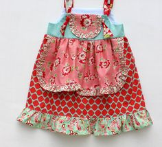 Scrumptious Princess Knot Dress by WildOliveKids on Etsy, $35.00