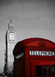 I love telephone booths... And Big Ben is in the background!