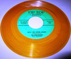 1961 Doo Wop 45 Rpm The Perfomers I'LL MAKE YOU UNDERSTAND / GIVE ME YOUR HEART On Tip Top 402: CHECK US OUT ON DISCOGS: echosofthepastofwax