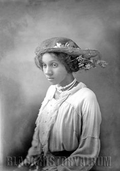 Miss Beatrice Bynum | 1914 by Black History Album, via Flickr