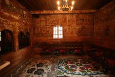 Interior of the wooden church from Budești Josani, Maramureș, Romania Vernacular Architecture, Romania, Interior, Home Decor, Decoration Home, Indoor, Room Decor, Interiors, Home Interior Design
