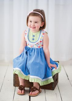 Sew Classic Clothes for Girls: Book - The Cottage Mama