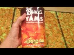 CANDIED YAMS SWEET POTATOES FREEZE DRIED VEGETABLE HARVEST RIGHT FREEZE DRYERS THANKSGIVING FOOD ST - YouTube