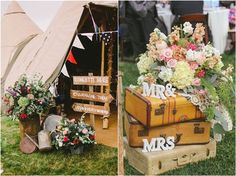 bohemian vintage wedding ideas