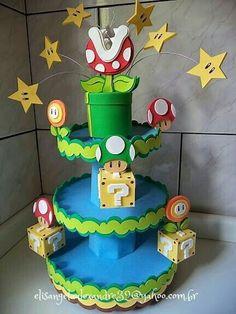 40 Ideas Birthday Ideas For Brother Super Mario Bros Super Mario Party, Super Mario Bros, Bolo Super Mario, Super Mario Birthday, Mario Birthday Party, Birthday Party Themes, 5th Birthday, Super Mario Cupcakes, Birthday Ideas