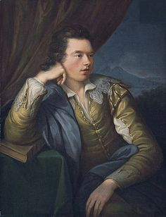 Angelica Kauffmann (Swiss, 1741 - Portrait of John campbell, Earl and Marquess of Breadalbane three-quarter-length, in a yellow jacket with lace collar and cuffs, his right. Cannes, Monaco, Angelica Kauffmann, Robert Campbell, Saint Martin Vesubie, Cap Martin, Cagnes Sur Mer, A4 Poster, Poster Prints