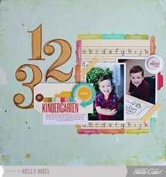 Hello Kindergarten *Main Kit Only* by Kelly Noel at @Studio_Calico