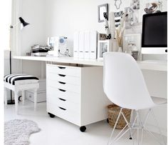 Alex drawers & vika amon tbl for home office-Stylizimo