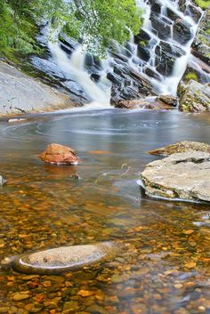Kinloch Rannoch Waterfall - Perthshire, Scotland