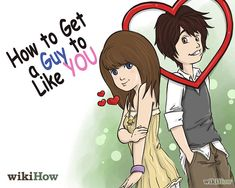 Step by Step to get him to fall for you ;)