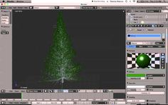 Blender 2.6 Tree Tutorial