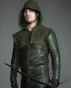 Green Arrow Leather Jacket WhatsApp : 081703402482 | PIN BB : D5C80381 http://jaketkulitz.blogspot.com