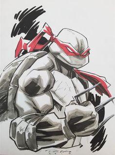 Teenage Mutant Ninja Turtles - Raphael by Khary Randolf *