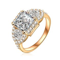 Fashion sparkling zircon ring high quality new creative ring boutique personality women's engagement ring the best jewelry