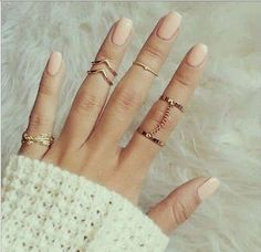 6pcs-Set-Gold-Urban-Rings-Crystal-Above-Knuckle-stacking-Band-Midi-Mid-Ring
