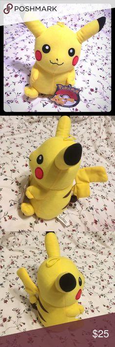 NWT Pokemon Character Plush Pikachu Brand New With Tag! Crazy cute ⚡Pikachu⚡!! Pokemon Accessories