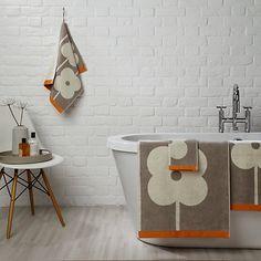 Buy Orla Kiely Abacus Flower Towels Online at johnlewis.com