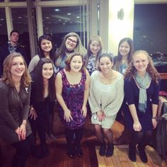 Sisters @ BU Greek Jewish Council's Greek Shabbat!