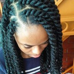 20 Of The Hottest Jumbo Marley Twists Styles Found On Pinterest ...
