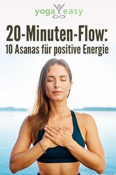 flow: 10 asanas for positive energy - 20 minutes of yoga: these yoga exercises quickly provide energy! flow: 10 asanas for positive energy - 20 minutes of yoga: these yoga exercises quickly provide energy! Vinyasa Yoga, Yoga Stretching, Yoga Régénérateur, Ashtanga Yoga, Yin Yoga, Yoga Flow, Asana, Yoga Inspiration, Yoga Meditation