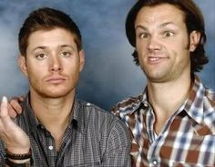 Jensen Ackles and Jared Padalecki...wow.