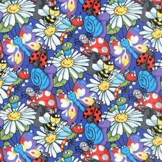 The Be My Bug collection from Blank Quilting