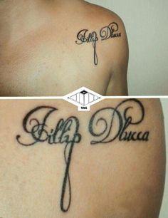 Tipografia. #tipografia #tattoo #tatuagem #typography  Kataklisma Tatuaria
