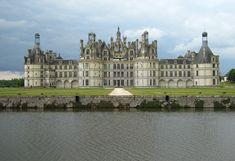 schlösser an der loire | Schloss Chambord, Parkansicht