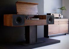 Modern Record Console by Symbol Audio 2 La console Symbol Audio, lalliance du vintage et du contemporain