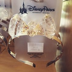 Pin for Later: 40 Disneyland Products That Will Help You Celebrate the Anniversary in Style Disney Diamond Headband Disney Mickey Ears, Cute Disney, Disney Style, Hot Topic Disney, Mickey Mouse, Anniversary Jewelry, 60th Anniversary, Disney Vacations, Disney Trips