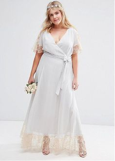 Wedding Dress Simple, Charming Silk-like Chiffon V-neck Neckline Plus Size A-Line Bridesmaid Dresses, We sell gorgeous, affordable wedding dresses available in a variety of styles & sizes. Our wedding gowns are made to order. Browse our wedding dresses Affordable Wedding Dresses, Wedding Dresses Plus Size, Bridal Wedding Dresses, Plus Size Dresses, Bridesmaid Dresses, Wedding Lace, Maxi Dresses, Chiffon, Dresser