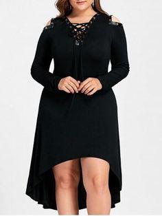 GET $50 NOW   Join RoseGal: Get YOUR $50 NOW!https://www.rosegal.com/plus-size-dresses/high-low-cold-shoulder-plus-1300477.html?seid=4881854rg1300477