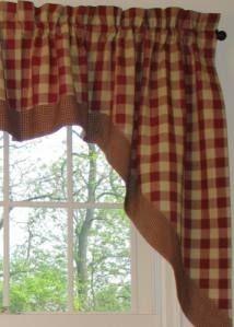 Luxury Tan Valance Curtains