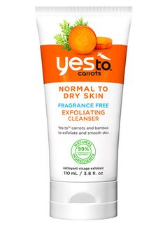 Yes to Carrots Exfoliating Facial Cleanser