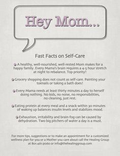 Five fast facts on self-care