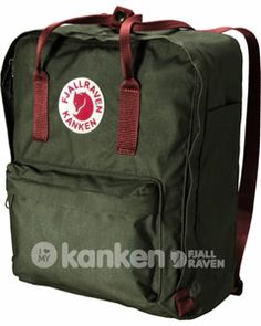 fjallraven kanken classic backpack in ox red